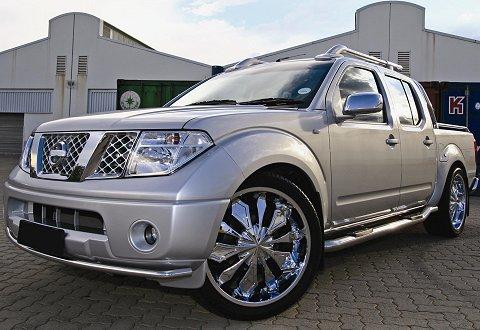 SAC's pimped Nissan Navara | Wheels24