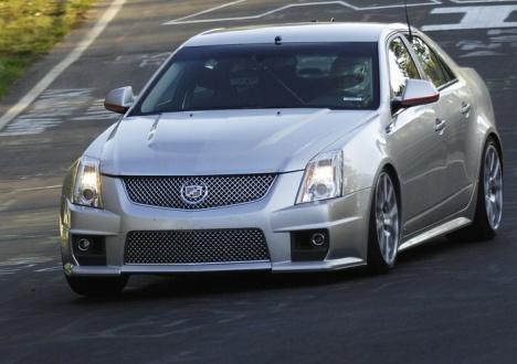 Cadillac Cts V Autotrader >> Cadillac goes sub-eight at the 'Ring | Wheels24
