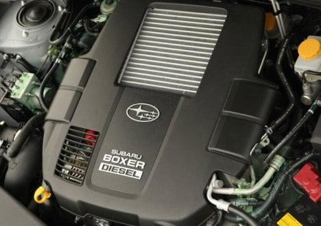 Subaru 2-litre Boxer turbodiesel