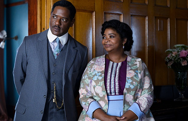 Blair Underwood and Octavia Spencer in Self Made: