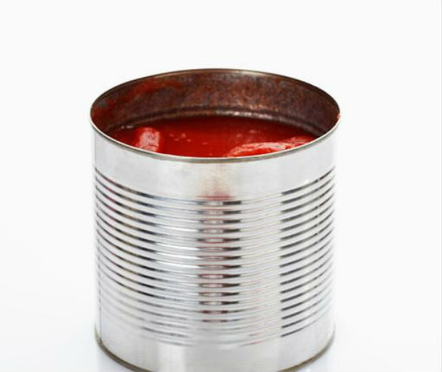 tomatoes in a can