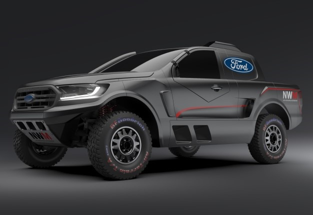 What a bakkie! Ford GT power for new Ranger FIA-spec cross-country vehicle - Wheels24