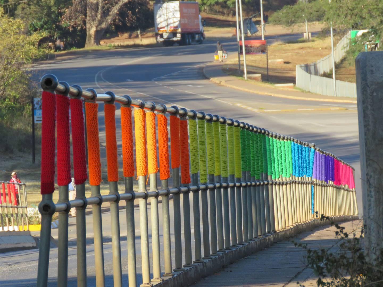 Rainbow bridge. Pictures: Nikki Brighton