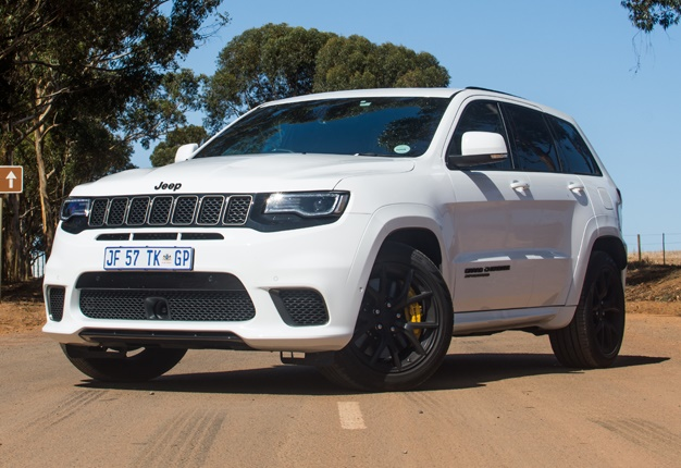 Review The Supercharged Jeep Trackhawk Is Blindingly Fast But