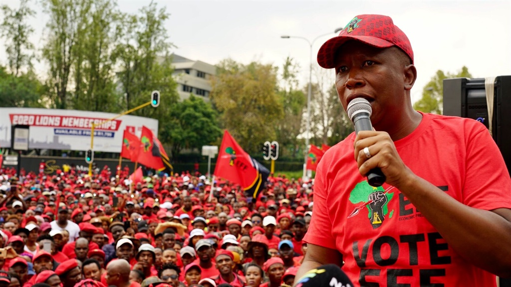 EFF march against load shedding brings parts of Joburg to a standstill - News24