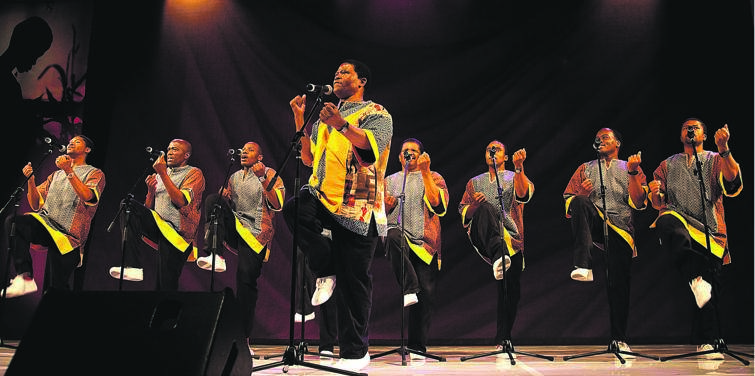 The question is: Who should take over as leader of Ladysmith Black Mambazo? Picture: Jabulani Langa