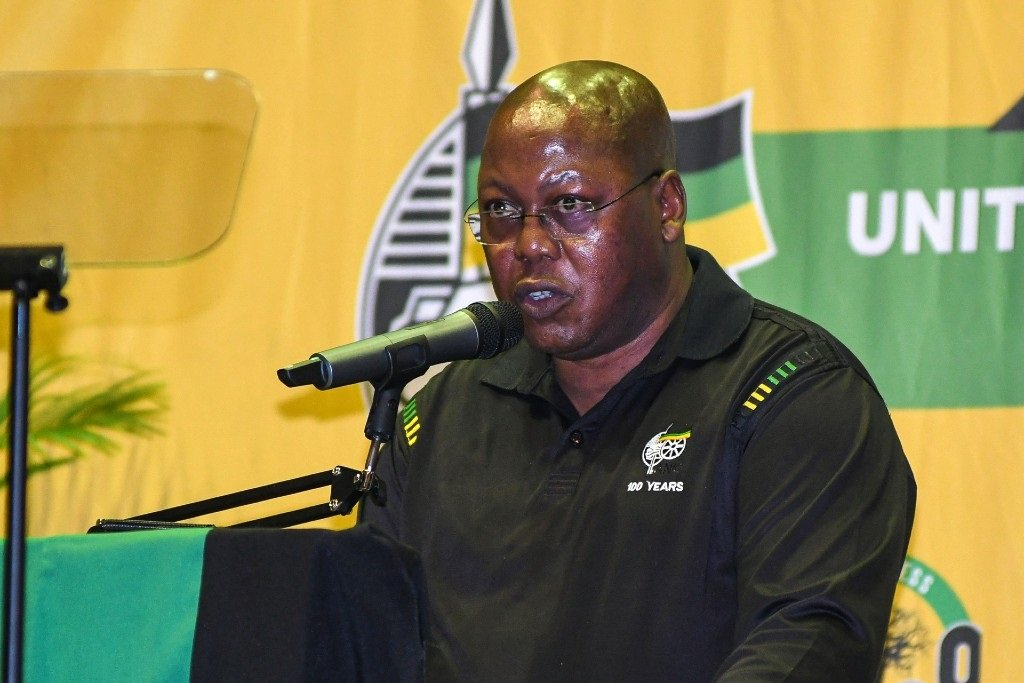 ANC KZN deputy chairperson Mike Mabuyakhulu at a prayer meeting at City Hall on 18 April 2021 in Durban.