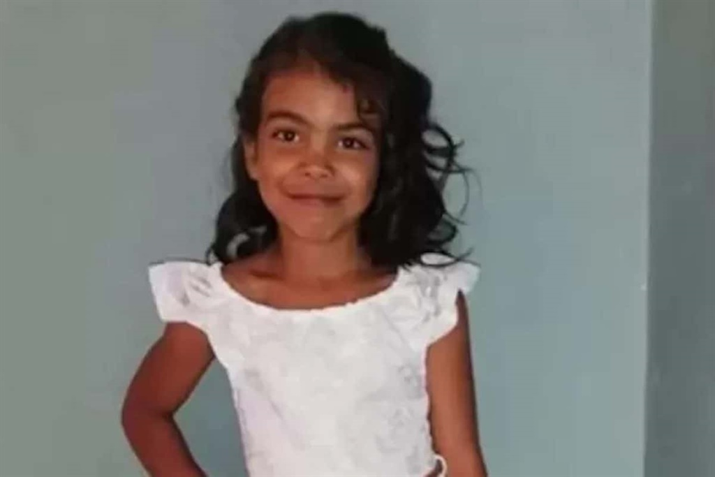 Seven-year-old Emaan Solomons was fatally shot while playing outside her home in Ocean View, Cape Town.