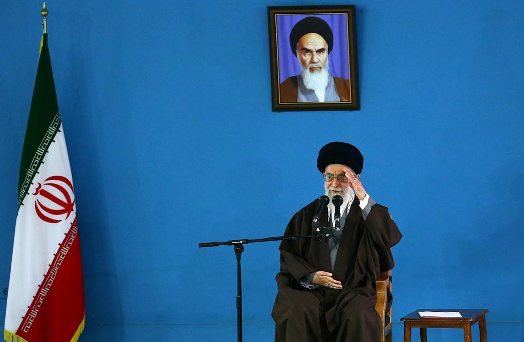 TEHRAN, IRAN - APRIL 19 :  Irans Supreme Leader Ay
