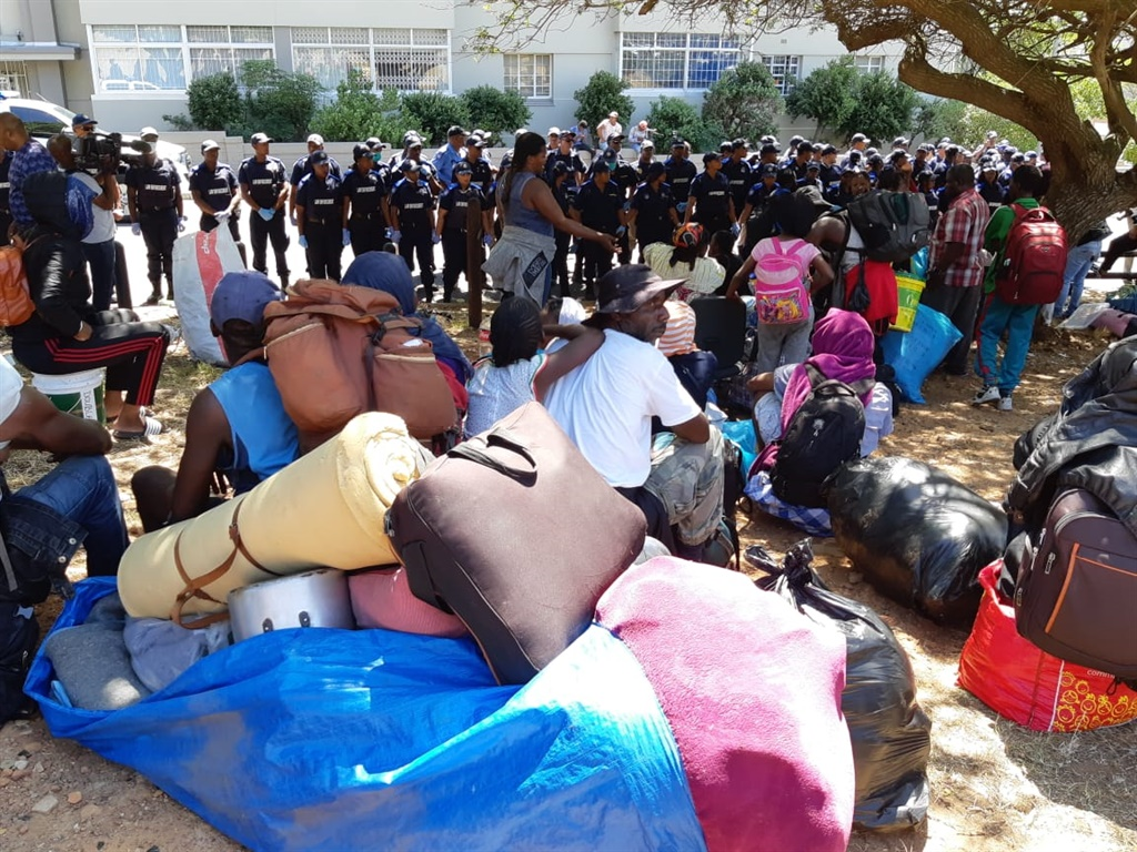Refugees in limbo in Cape Town (Jenni Evans, News24)