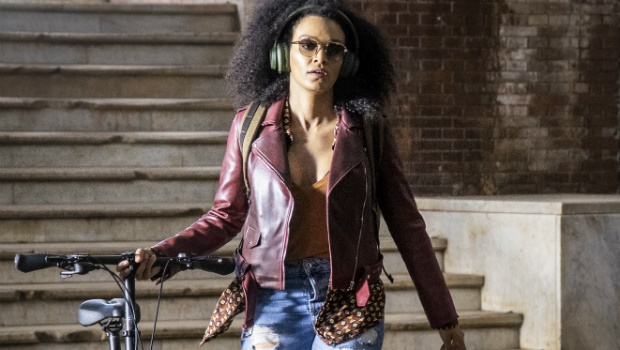 Pearl Thusi as Queen Sono. Image supplied by Netflix