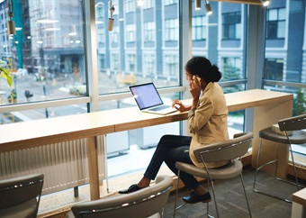 A window seat at work may make you more productive