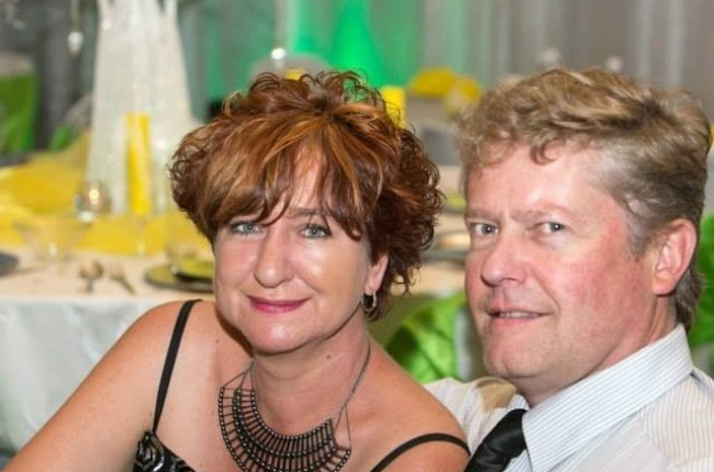 Sonja and Stephen Trent. Stephen died in the fire, while Sonja made it out alive. (Photo: Supplied)