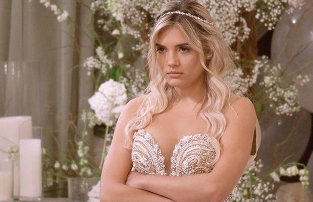 Giannina in 'Love is Blind.' (Photos: Netflix)