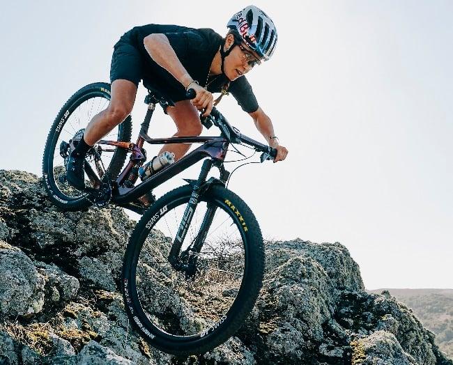 Kate Courtney is mountain biking's American superstar (Photo: Emily Tidwell)