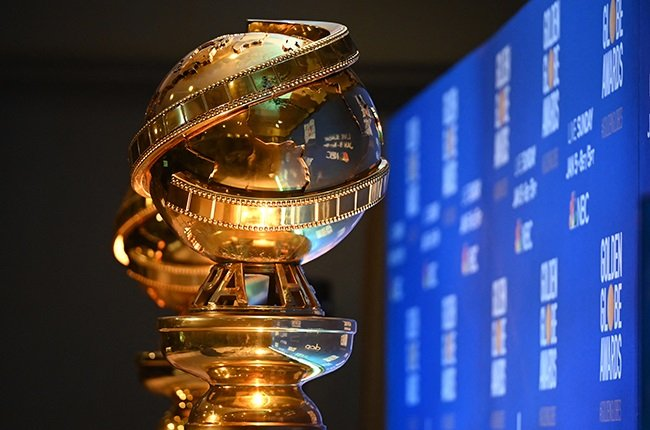 Golden Globe trophies are set by the stage ahead of the 77th Annual Golden Globe Awards nominations announcement.