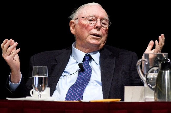 Charlie Munger is handling Bill Gates' legal matters as he splits from wife Melinda. (PHOTO: GALLO IMAGES/GETTY IMAGES)