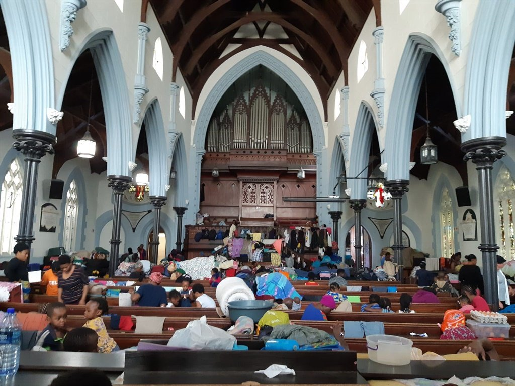 Refugees in Cape Town Methodist Church pray for safety from coronavirus - News24