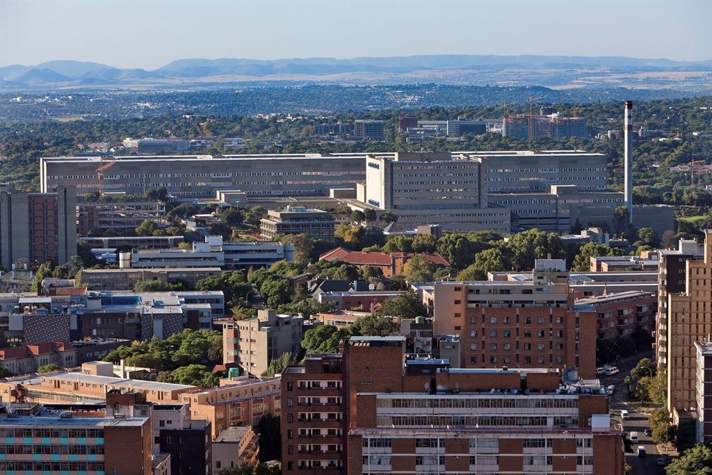 The Charlotte Maxeke Hospital in Johannesburg.