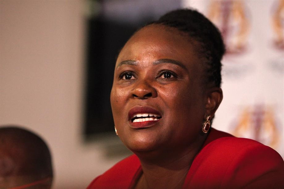 Mkhwebane's office sees 'rapid surge' in Covid-19-related complaints - News24