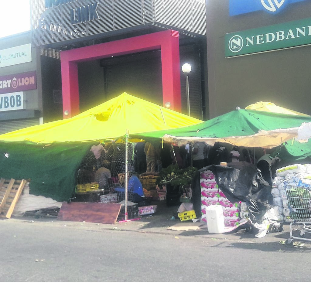 Informal traders can operate again if they have a permit.PHOTO: Unathi Obose