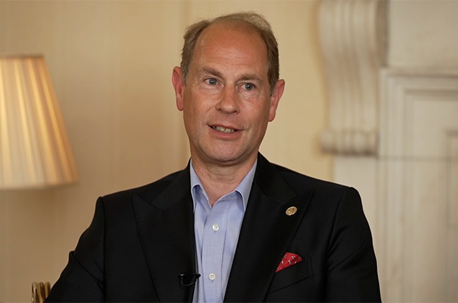 Prince Edward speaks to CNN's Max Foster.