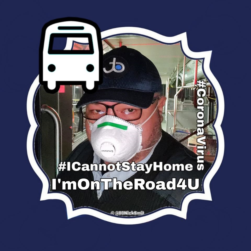 Jason Hargrove's Facebook profile photo. He died of coronavirus days after a video of him detailing how a lady coughed in the bus he was driving without taking any precautions.