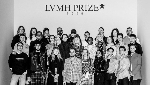 2020 LVMH Prize finalists. Image: LVMH Prize Instagram account