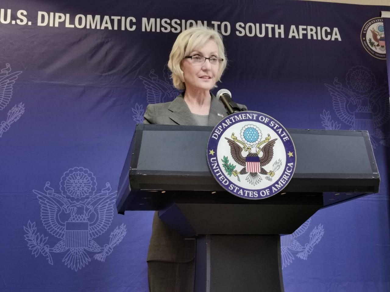 Lana Marks, US Ambassador to SA.