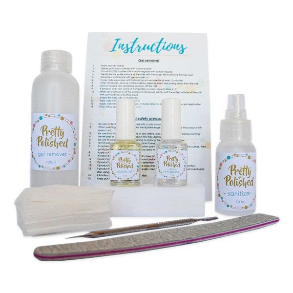 gel removal kit at home
