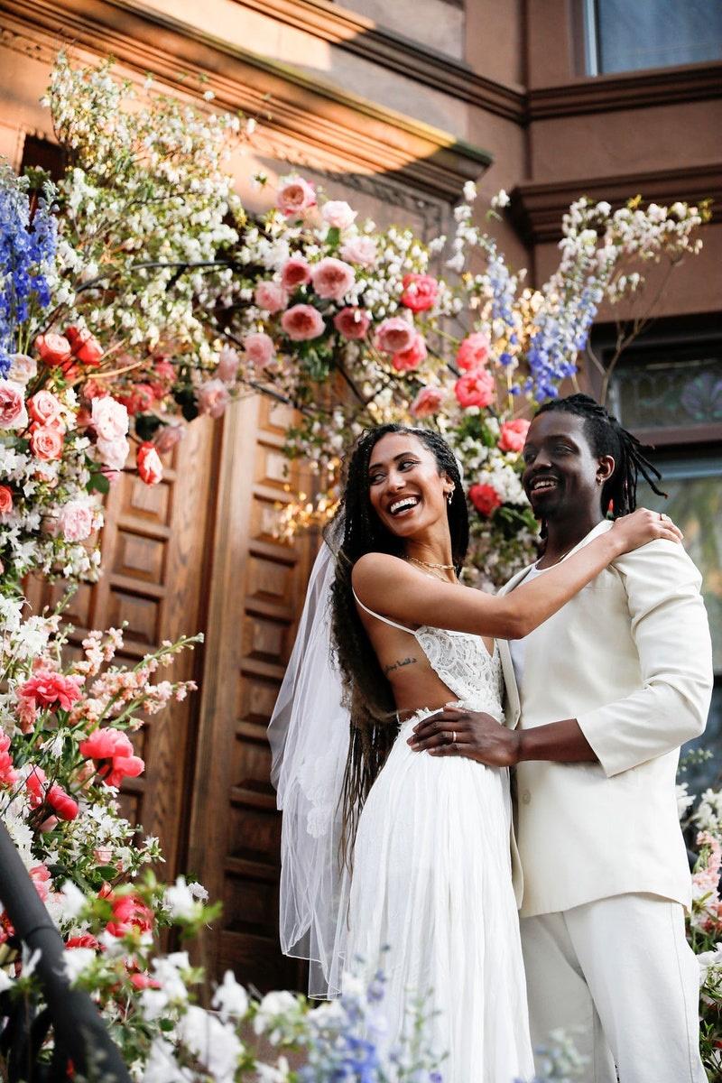 elaine's lockdown wedding