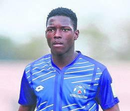 Maritzburg United striker Bongokuhle Hlongwane.