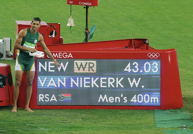 Wayde Van Niekerk (Xavier Laine/Getty Images)