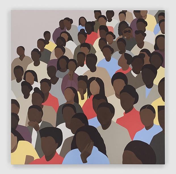 Audience by Thenjiwe Nkosi. From Gymnasium. 2020.