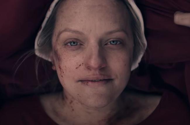 Elisabeth Moss in 'The Handmaid's Tale.'