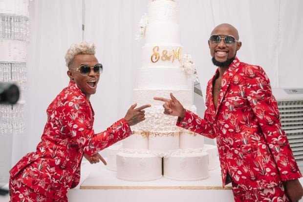 Photo Somizi And Mohale Celebrate One Year Of Marriage Channel