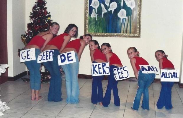 7 cousins when they were kids