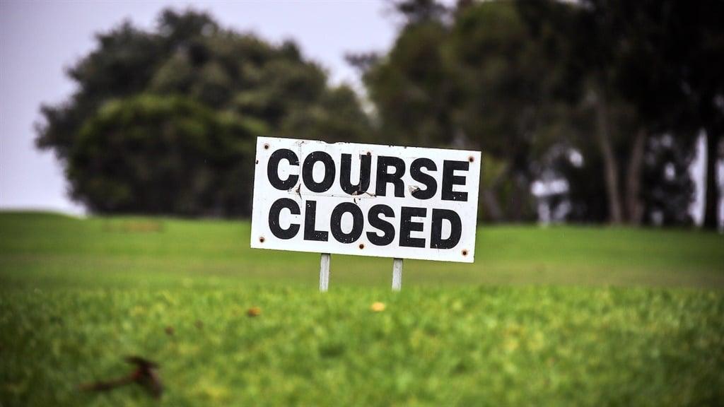 A closed golf course in Australia.