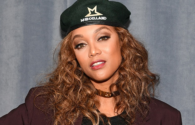Supermodel and TV personality Tyra Banks.