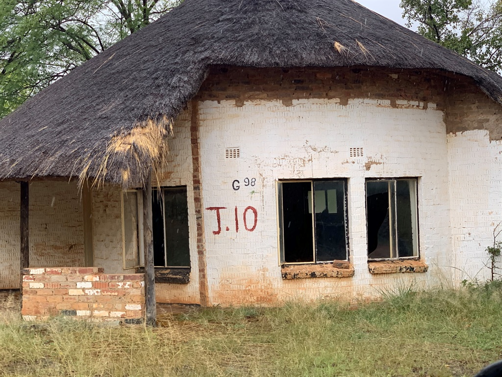 An empty rondavel at the Zithabiseni quarantine camp close to Groblersdal.
