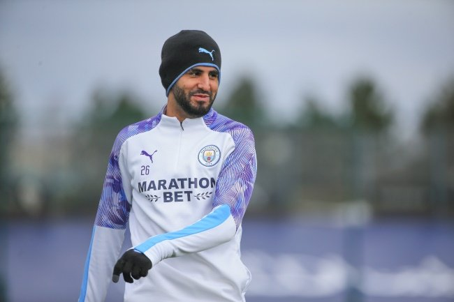 Riyad Mahrez (Photo by Tom Flathers/Manchester City FC via Getty Images)