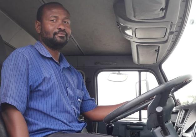 kenneth setati_truck driver