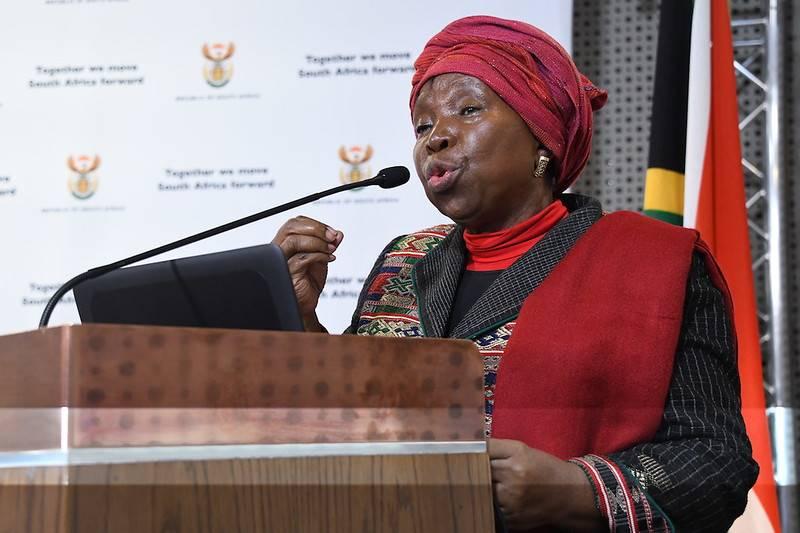Minister Nkosazana Dlamini-Zuma. Picture: GCIS