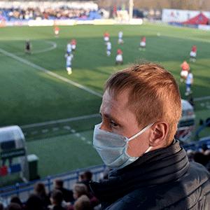 Soccer during coronavirus pandemic (AFP)