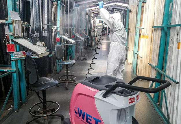 mobile cleaning unit,mcu