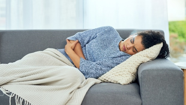 Woman with period cramps. (Photo: Getty/Gallo Images)