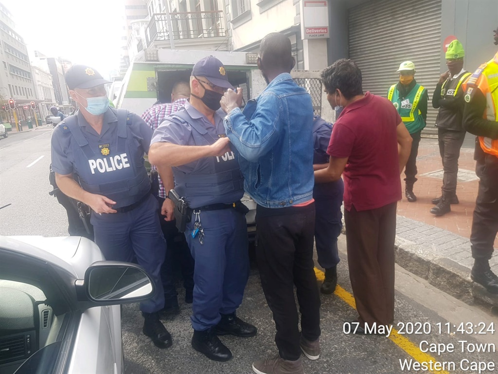 Two suspects were arrested after Thursday's robbery. (Photo: Facebook/CCID)