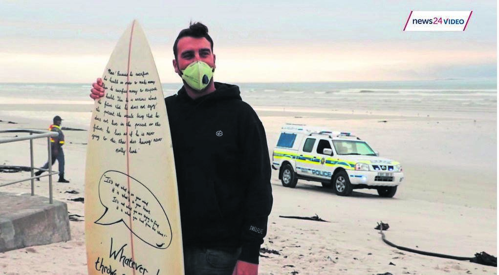 News24 captured the conflict between #BackInTheWater protestors and police.PHOTO: News24