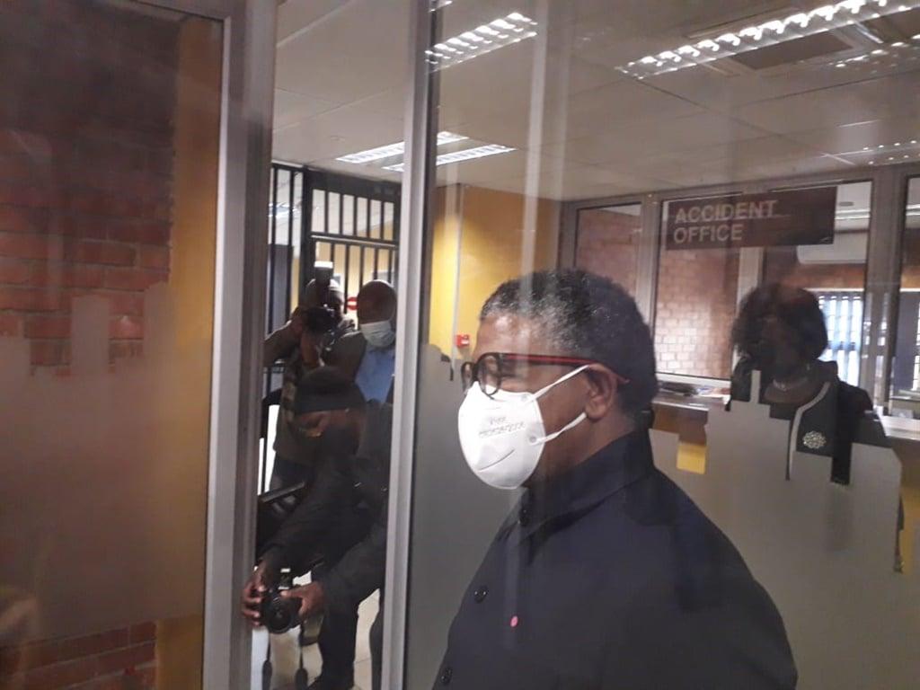 Minister Fikile Mbalula