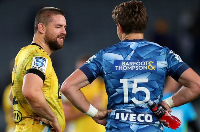 Dane Coles' late hit of former team-mate Beauden Barrett